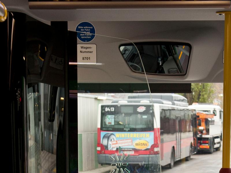 Bus Wagennummer innen