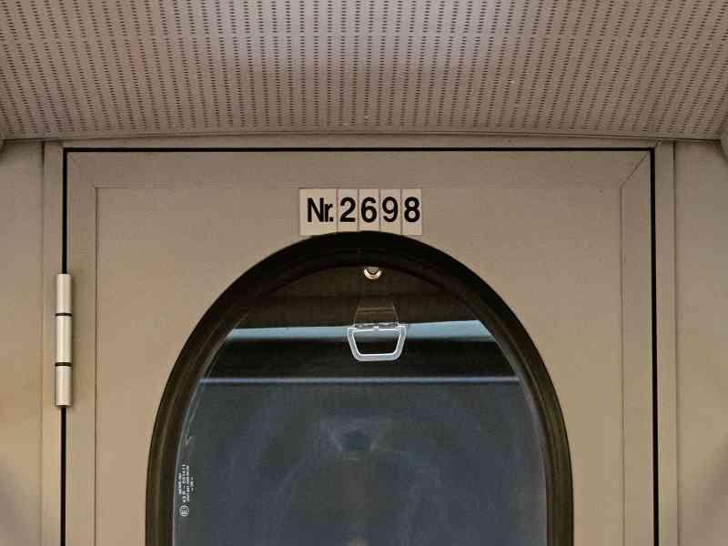 U6 Wagennummer innen