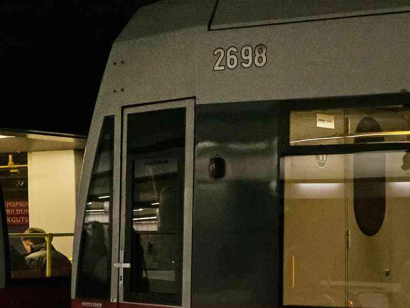 U6 Wagennummer außen
