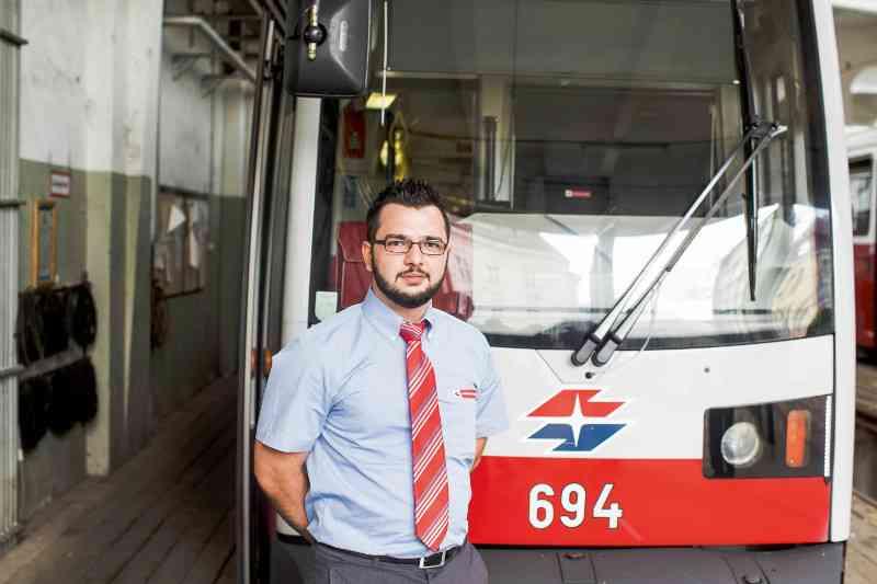 Ali Ibis gefällt das Betriebsklima bei den Wiener Linien.
