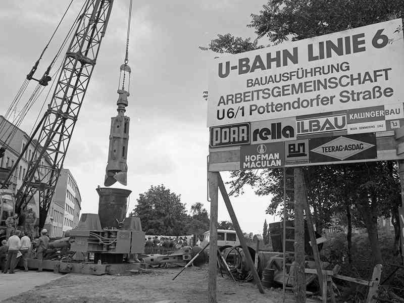 Von 1983 bis 1989 dauerten die Umbauarbeiten auf den U-Bahn-Betrieb.