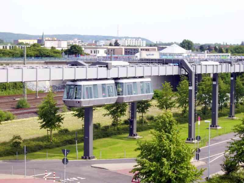 Vollautomatischer Sky Train am Flughafen Düsseldorf. Foto:  skjul vilkår CC BY-SA 3.0