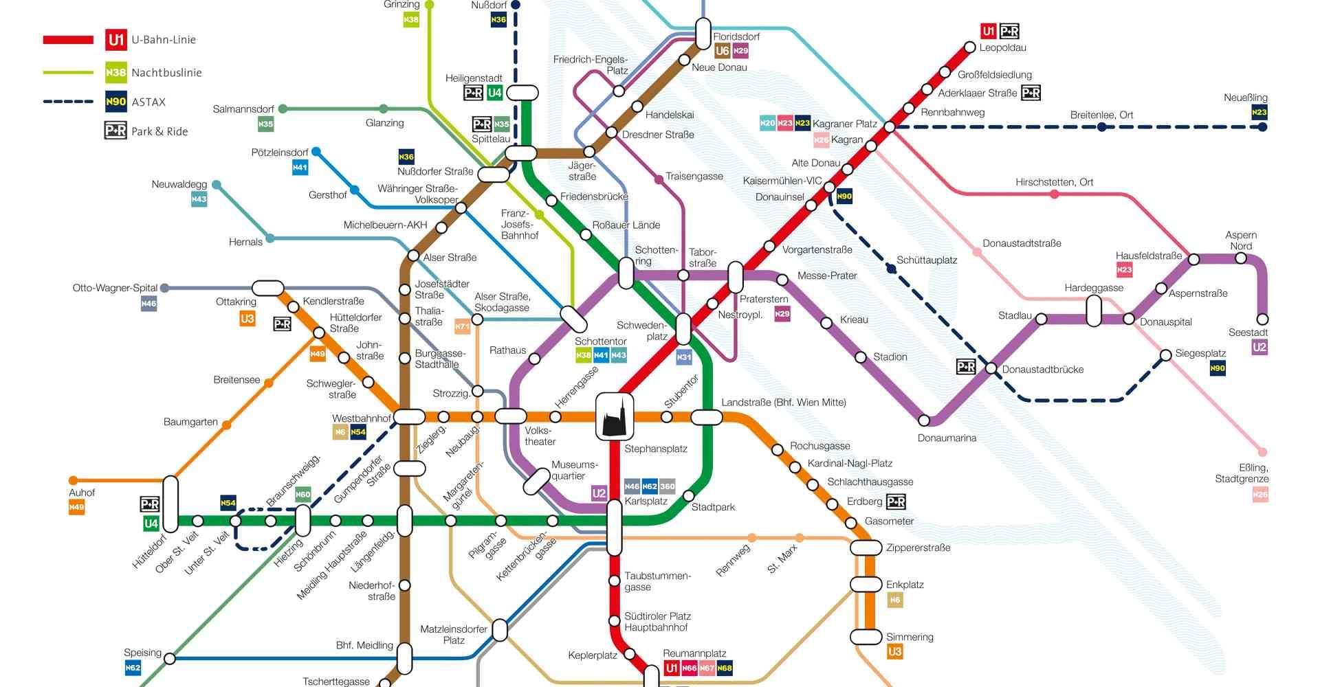 Auch in der Nacht wartet auf die Fahrgäste ein dichtes Netz bestehend aus der Nacht-U-Bahn und diversen Autobuslinien.