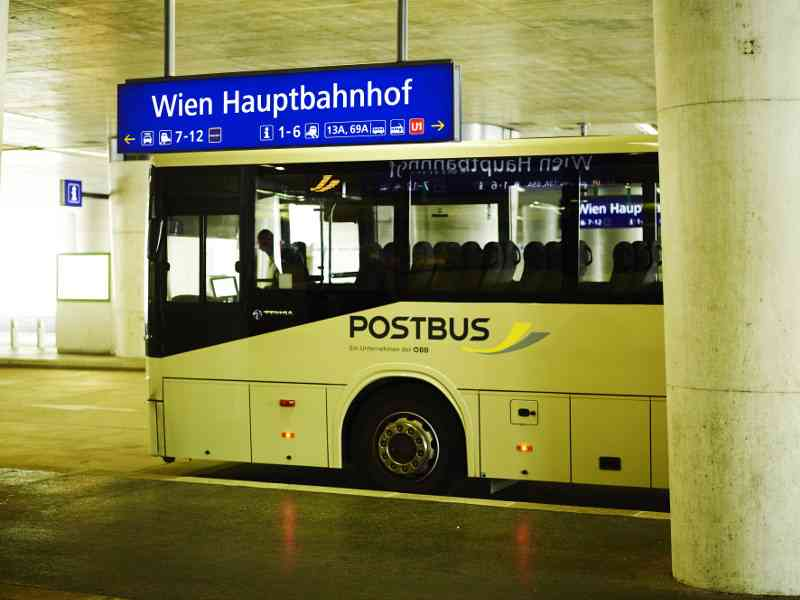 Die Vienna Airport Lines (VAL) verbinden verschiedene Knotenpunkte in Wien mit dem Flughafen, Foto: ÖBB/Philipp Horak