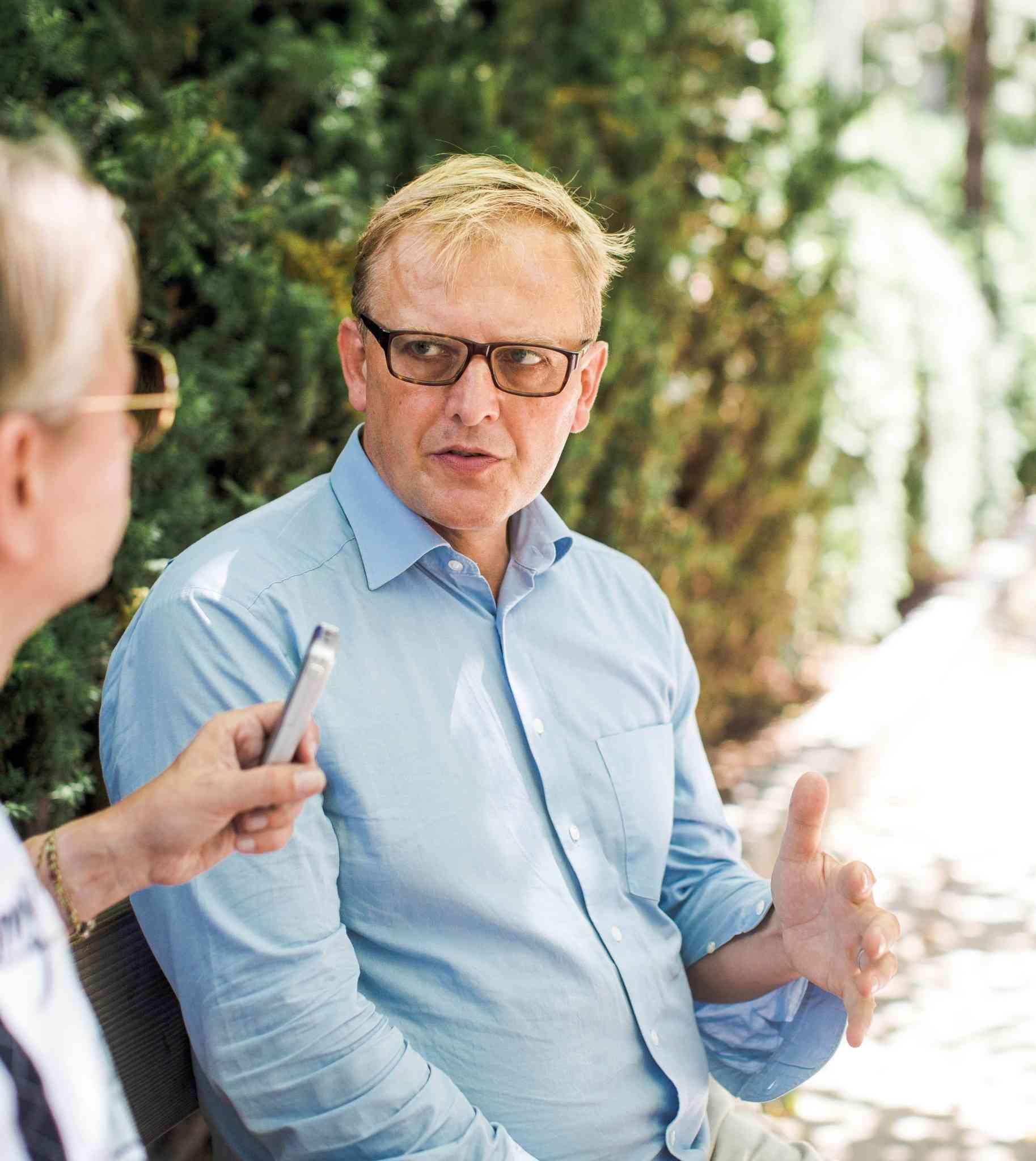 """""""Es braucht eine genaue Planung, damit die Öffis zukunftsfit bleiben können"""", so Markus Ossberger."""
