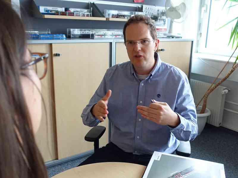 Robert Gradwohl, Projektleiter für den Flexity, im Interview