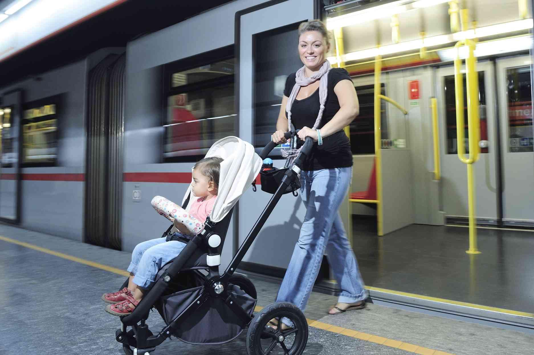 U-Bahnen und Busse sind bereits alle barrierefrei.