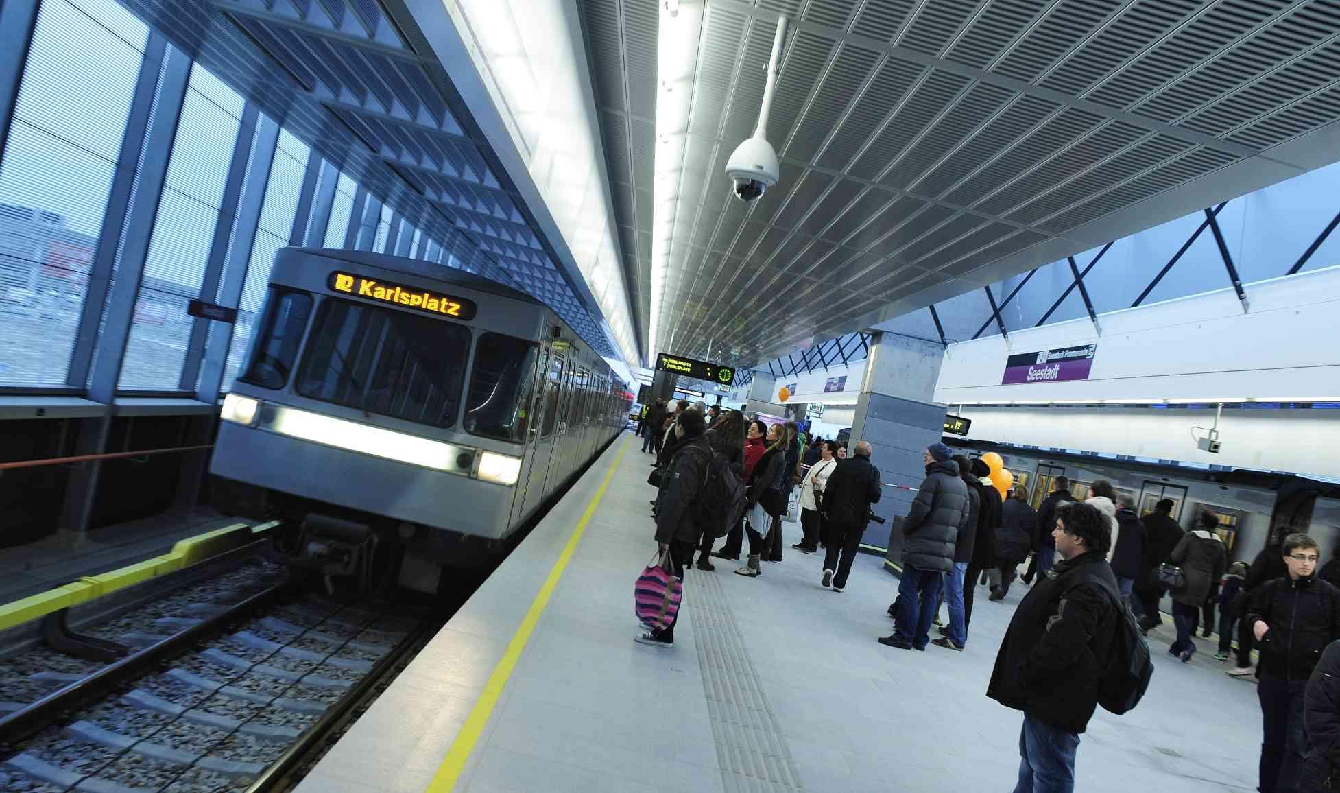 In allen U-Bahn-Stationen gibt es Videoüberwachung. Rund 80 Prozent davon sind mit Aufzeichnung samt Datenspeicherung ausgerüstet.