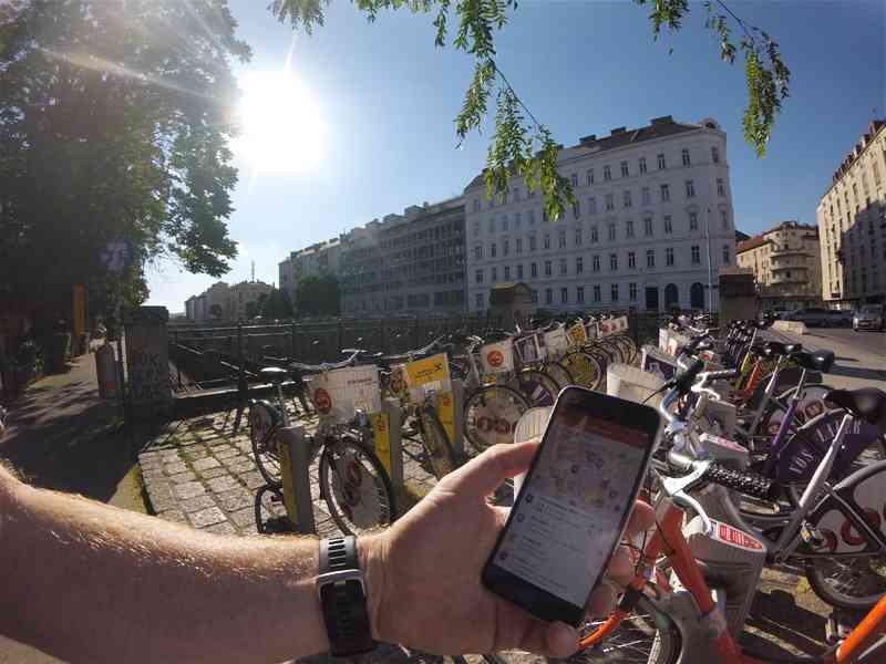 Mit WienMobil haben Sie viele Verkehrsmittel in einer App auf einen Blick.