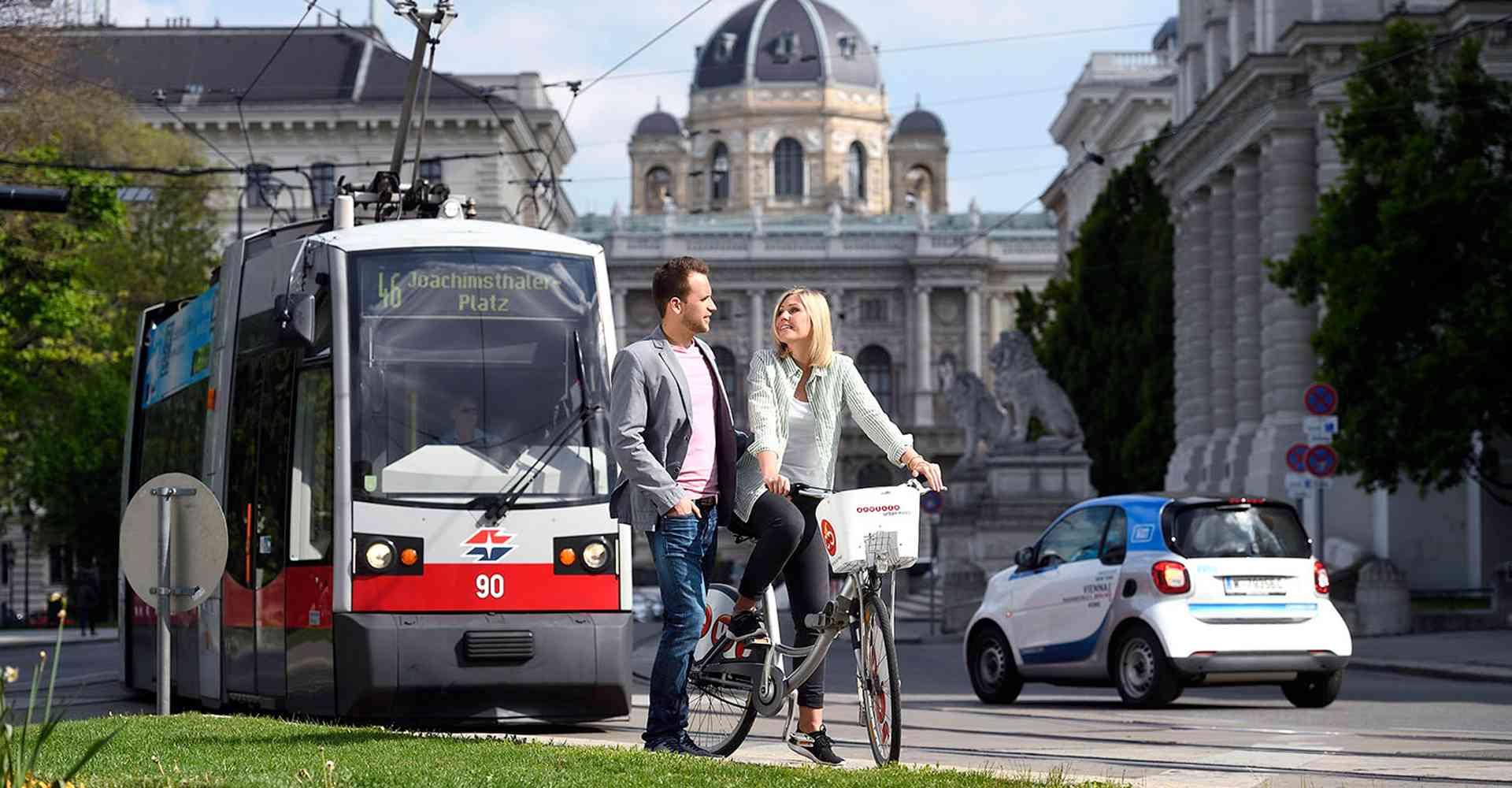 Mit der neuen WienMobil-App haben Sie die ganze Stadt im Griff.