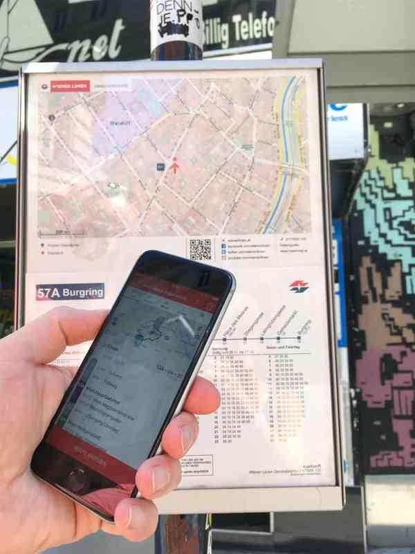 Egal ob mit Öffis, Carsharing, Taxi, Fahrrad, zu Fuß oder einer Kombi davon, WienMobil zeigt alle Routen an.