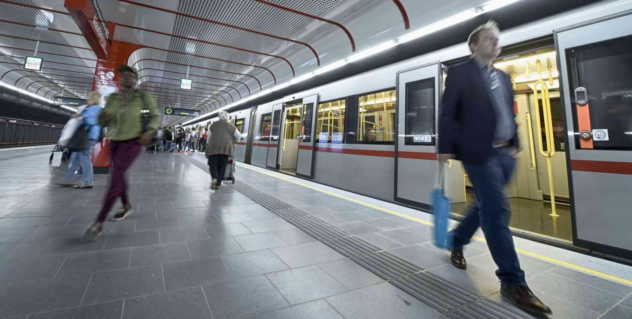 U1-Station Oberlaa
