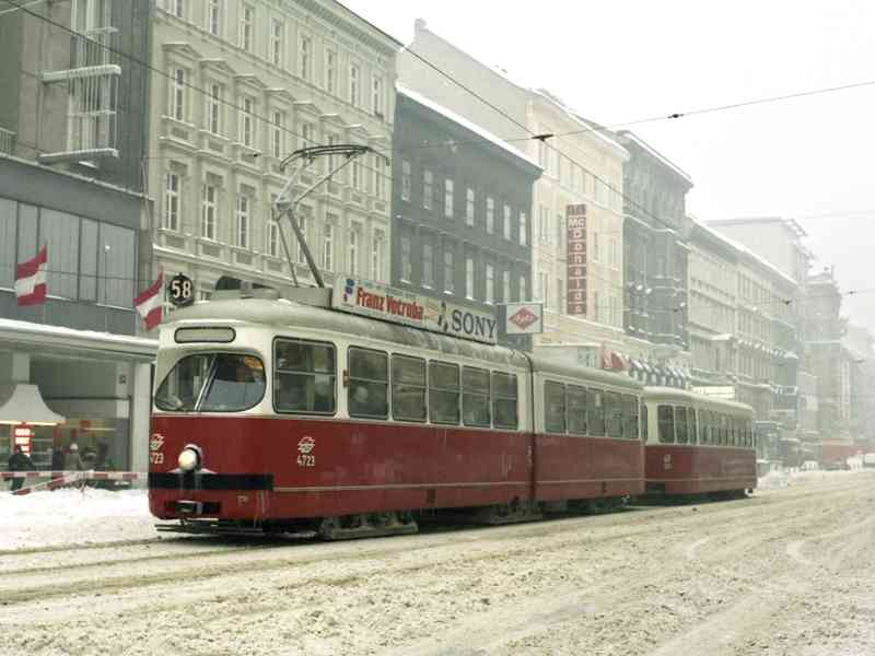 Noch ist von der U3 auf der Mariahilfer Straße nichts zu sehen.