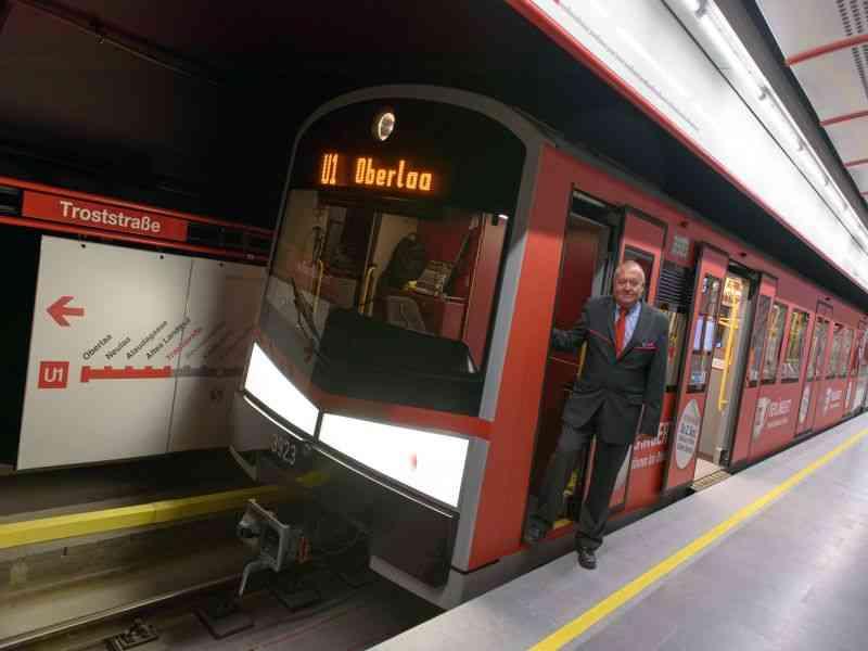 Die U1 wurde 2017 bis nach Oberlaa verlängert.