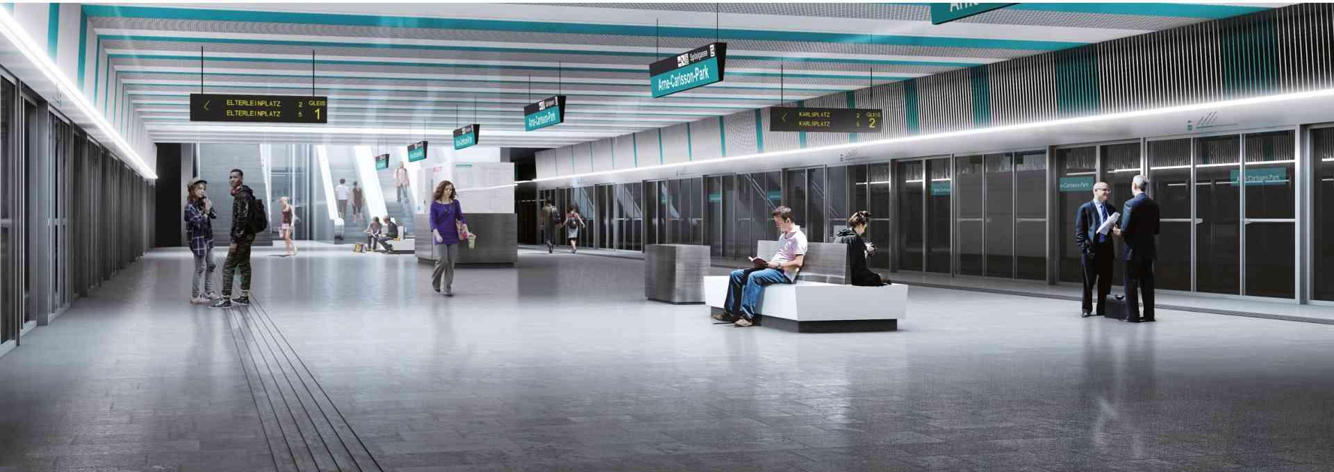 U5-Station Arne-Carlsson-Park