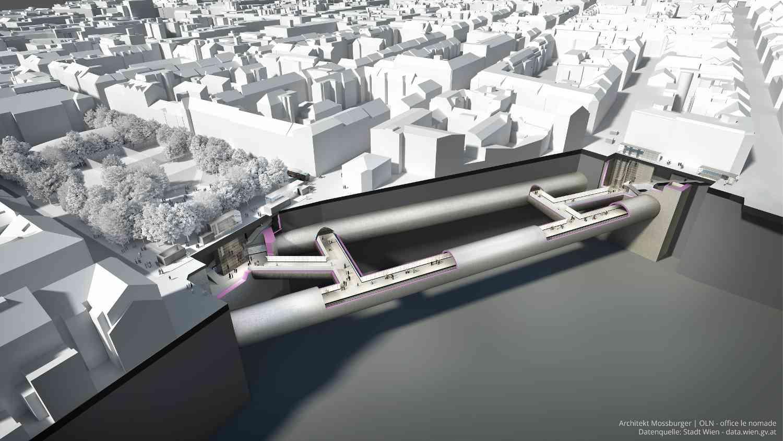 Mit der neuen U2-Station Reinprechtsdorfer Straße entsteht im Herzen von Margareten eine U-Bahn-Anbindung.