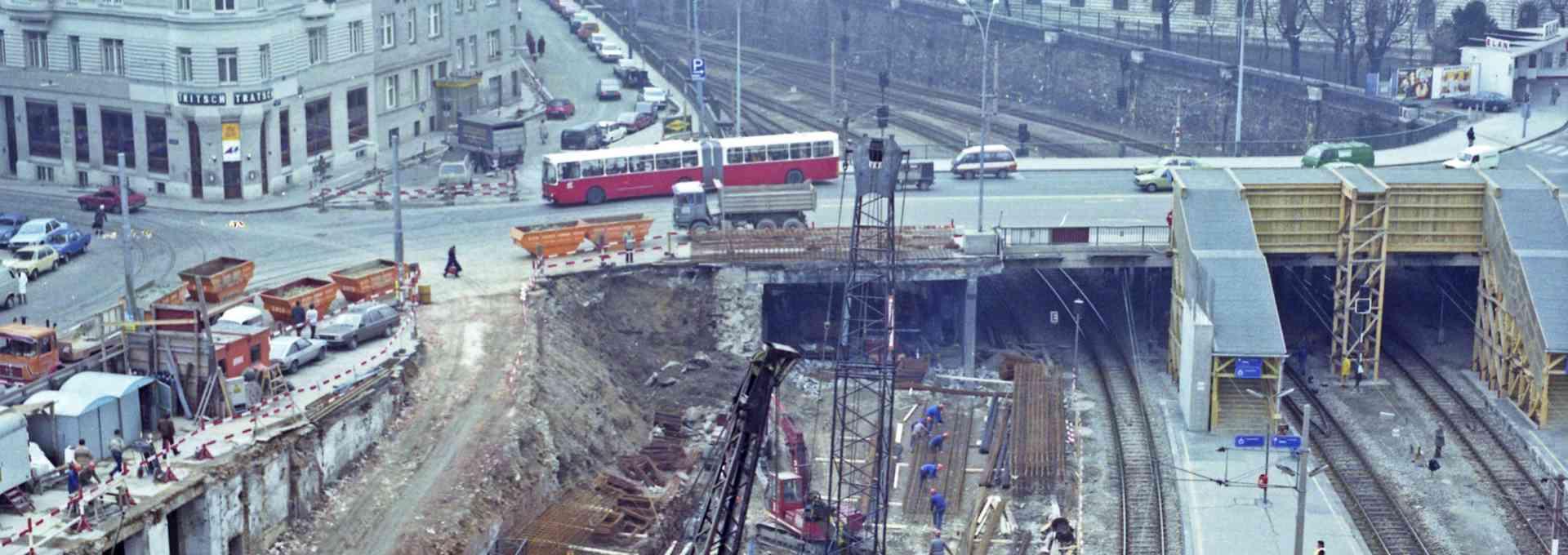 Wien ohne U-Bahn ist heute nicht mehr vorstellbar.