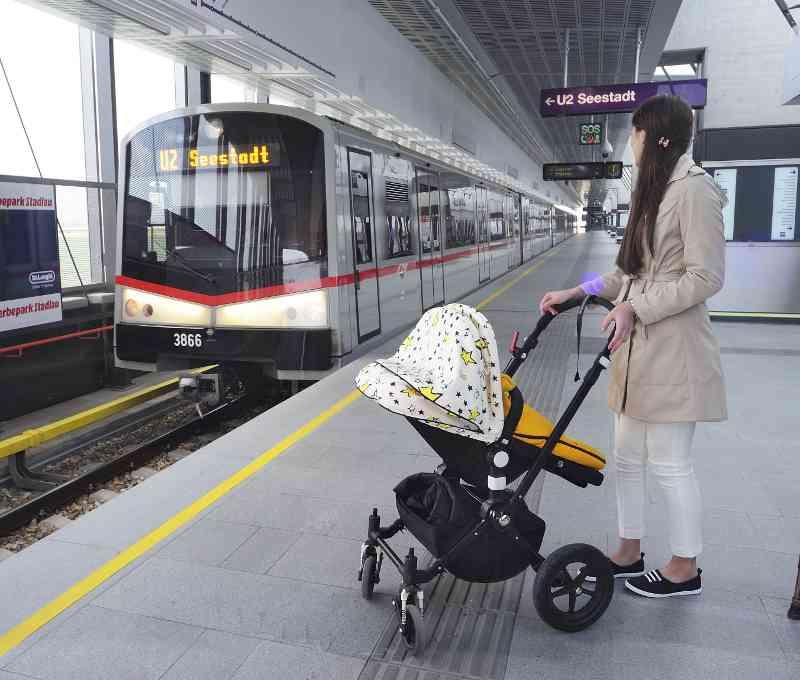 Besonders Eltern mit Kinderwagen schätzen die Barrierefreiheit