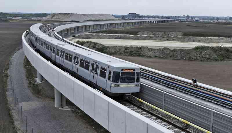 Der Silberpfeil ist das erste U-Bahn-Modell für Wien