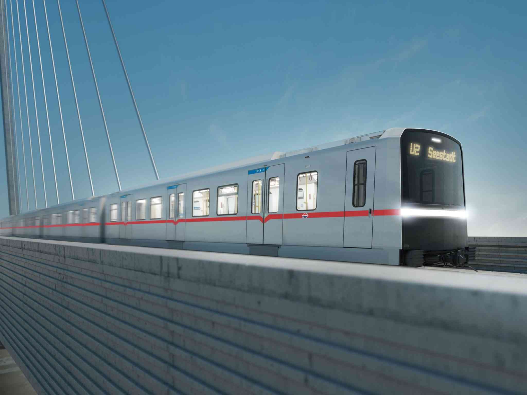 Der X-Wagen wird die alten U-Bahn-Garnituren sukzessive ersetzen und somit neue Plätze schaffen.