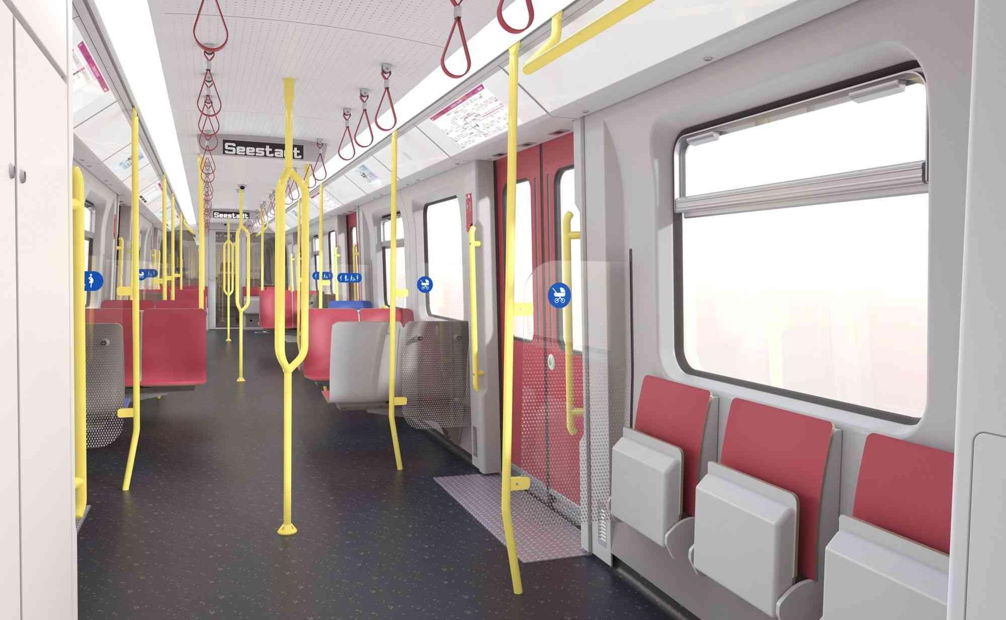 Der neue X-Wagen wird knapp 930 Fahrgäste befördern können.