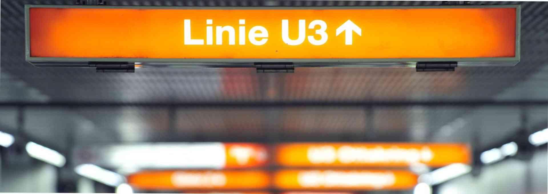Die Linie U3 transportiert jährlich 106 Millionen Fahrgäste auf insgesamt 13,5 Kilometern Fahrlänge.