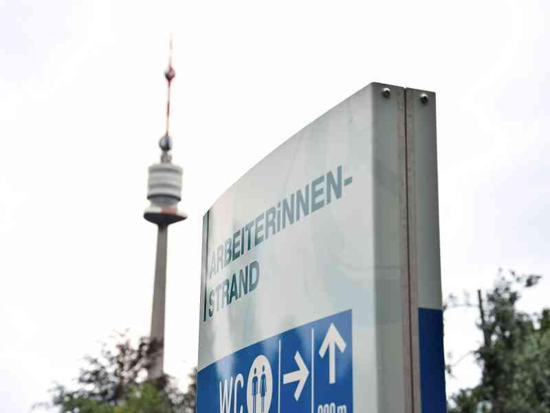 Nicht weit entfernt vom ArbeiterInnenstrand befindet sich der Donauturm. Foto: Richard Walde