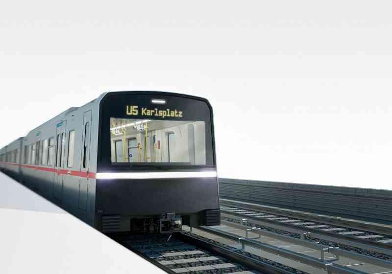 Die U5 wird die erste vollautomatische U-Bahn-Linie Wiens.