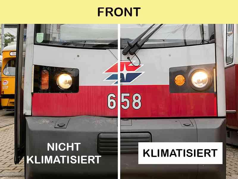 ULF mit und ohne Klimaanlage von vorne