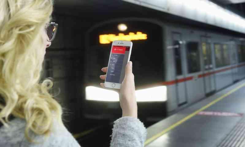Mit der WienMobil App lassen sich über das Smartphone die schnellsten Routen finden.