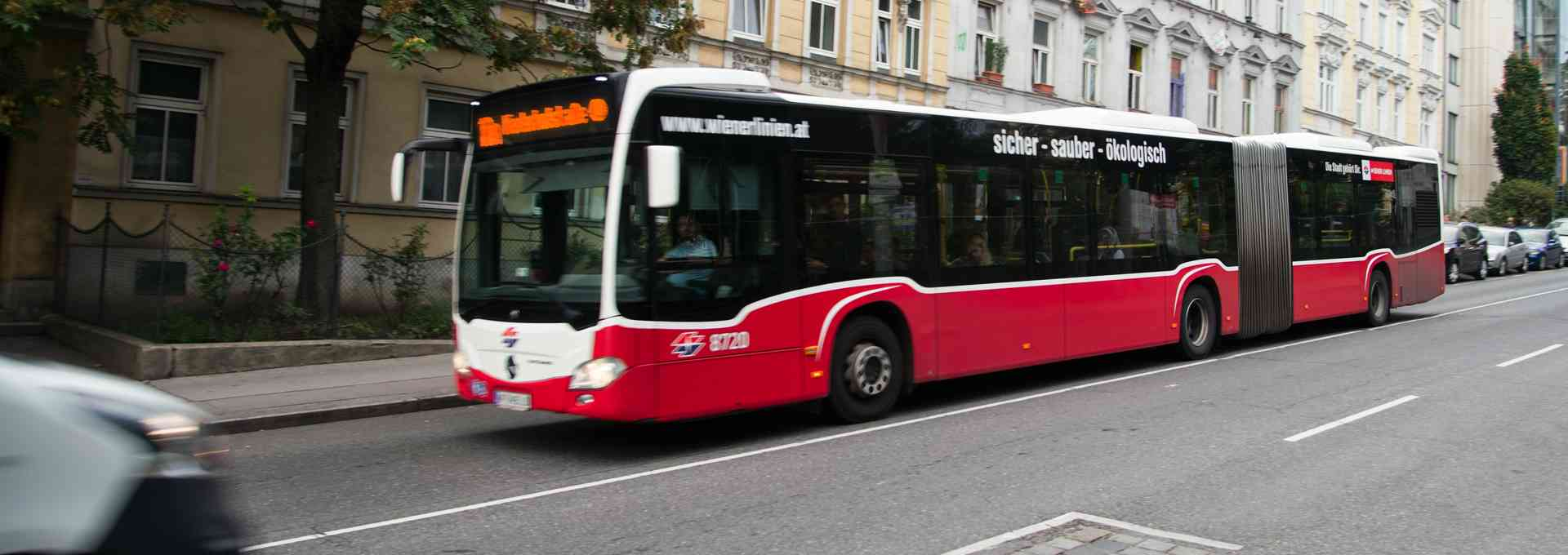 Die extremsten Buslinien Wiens