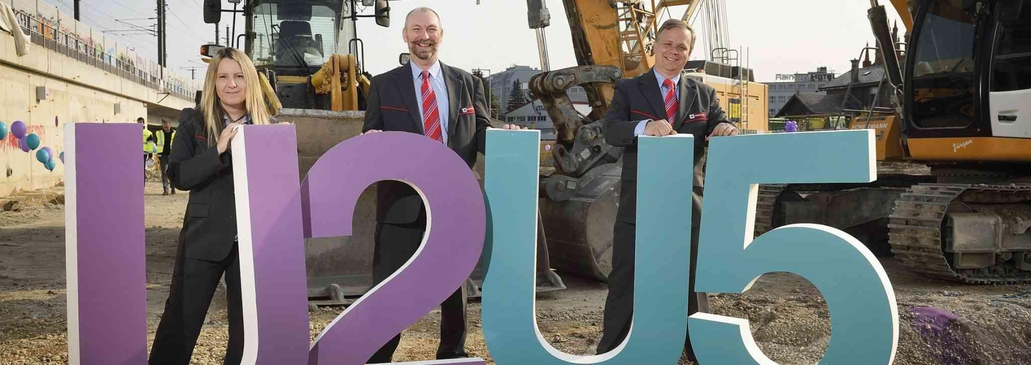 Die Grätzelbetreuer der neuen U2xU5 Baustelle.