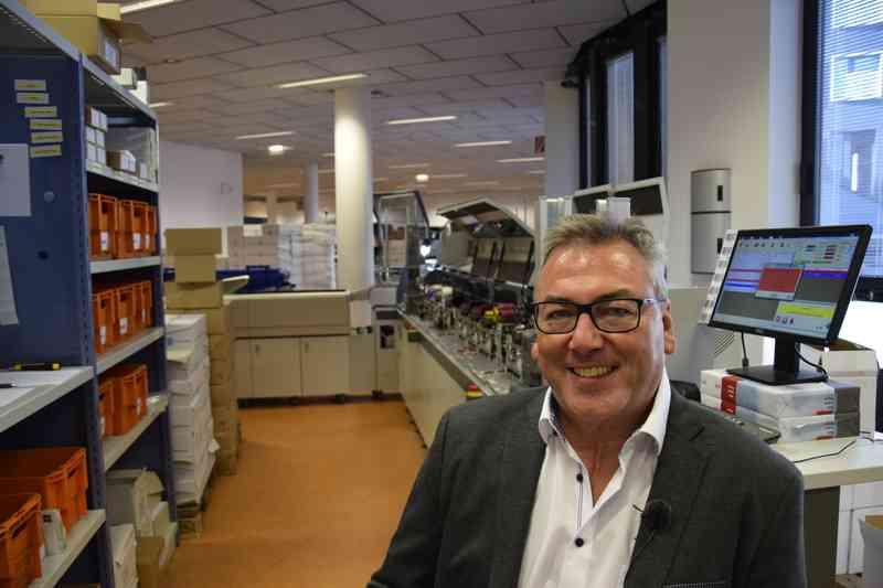 Andreas Birke ist der Leiter des WienIT Competence Centers Output Management (Druckerei).