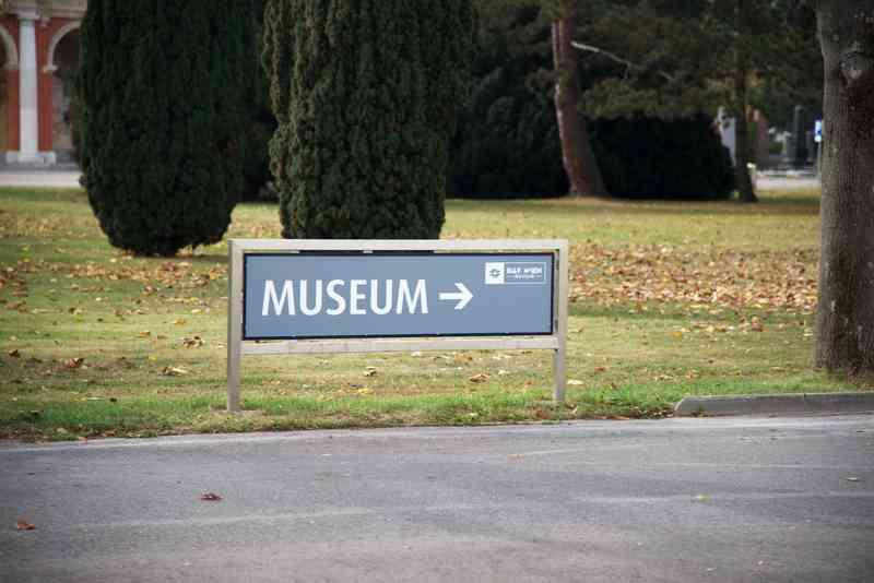 Auf dem Zentralfriedhof befindet sich das Bestattungsmuseum.