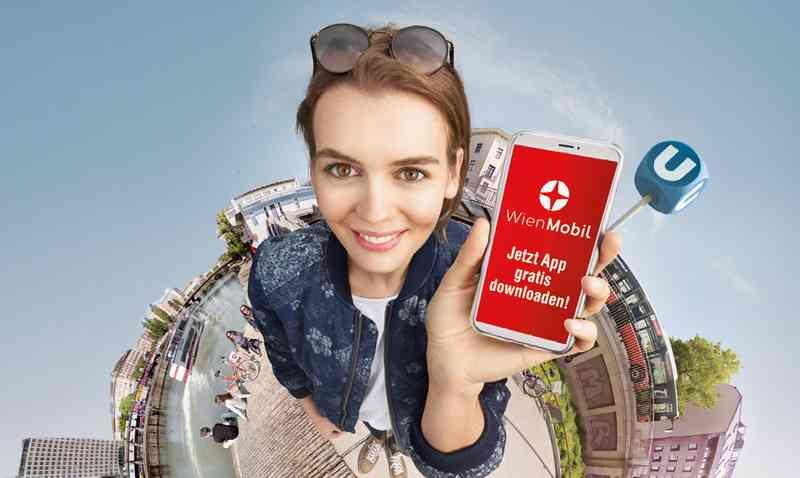 Seit 2017 ist die WienMobil die neue App um Routen zu planen und Tickets zu kaufen.