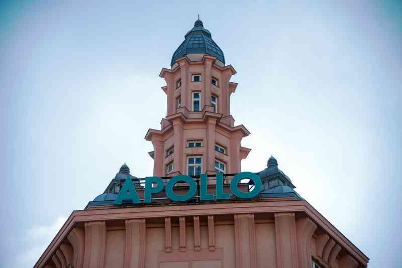 Das Apollo Kino wurde 1904 als Theater gebaut und eröffnet.
