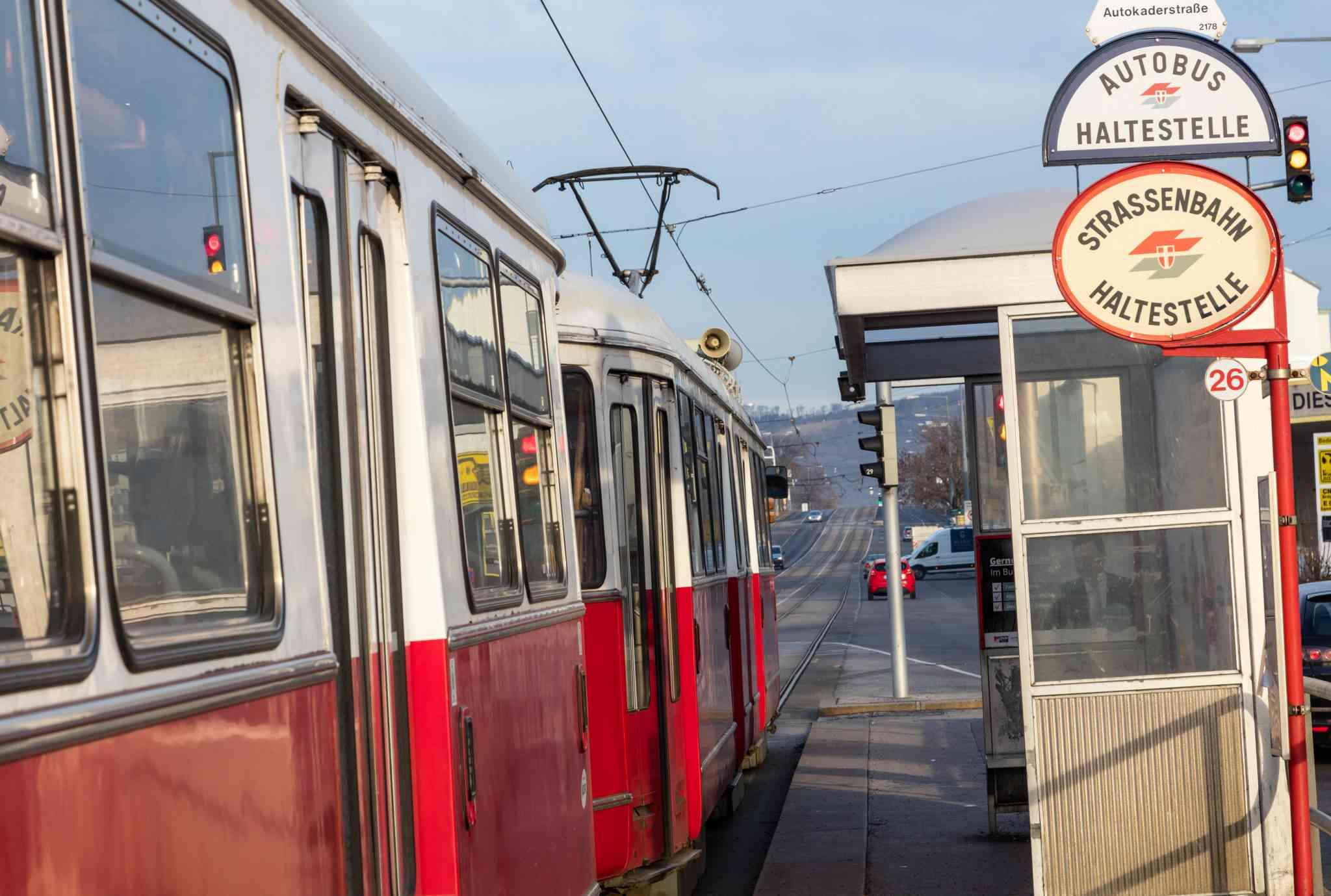 Der längste Abstand zwischen zwei Bimstationen befindet sich zwischen der Rußbergstraße und Autokaderstraße.
