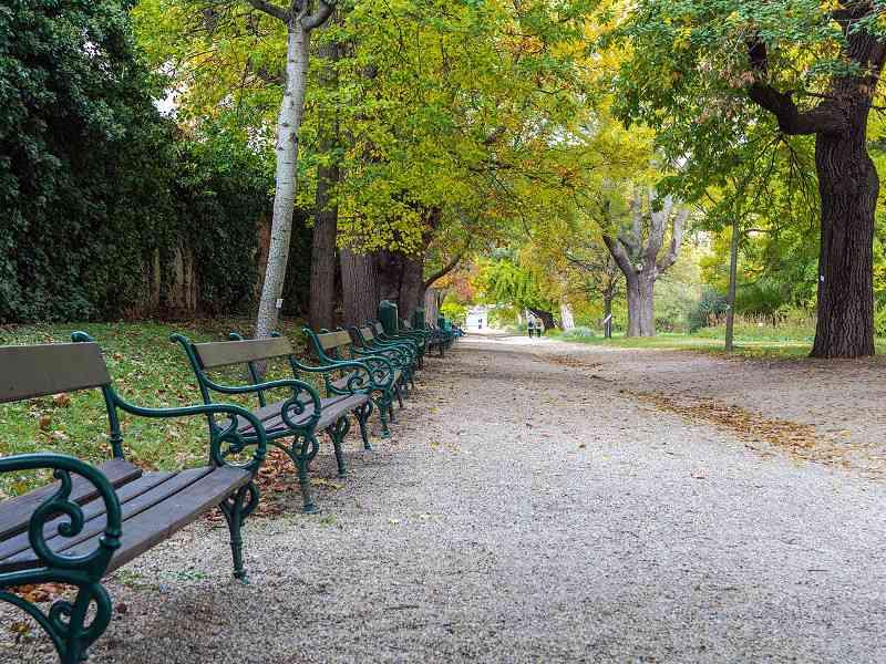 Es grünt so grün: Die Schlossgärten des Belvedere und der botanische Garten laden zum Spazieren ein. (Foto: Isiwal [CC BY-SA 4.0 (https://creativecommons.org/licenses/by-sa/4.0)])
