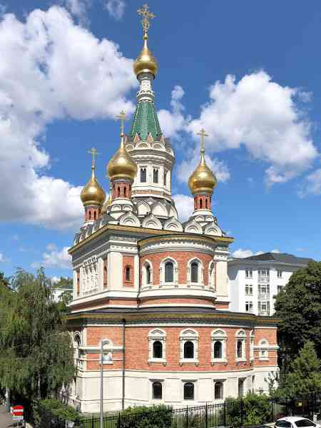 Die russisch-orthodoxe Kathedrale im dritten Bezirk. (Foto: Bwag [CC BY-SA 4.0 (https://creativecommons.org/licenses/by-sa/4.0)])