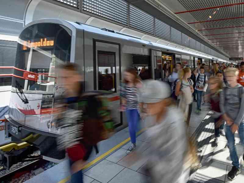 Die U1 bringt jährlich 113 Millionen Fahrgäste pro Jahr ans Ziel. Rekordverdächtig!