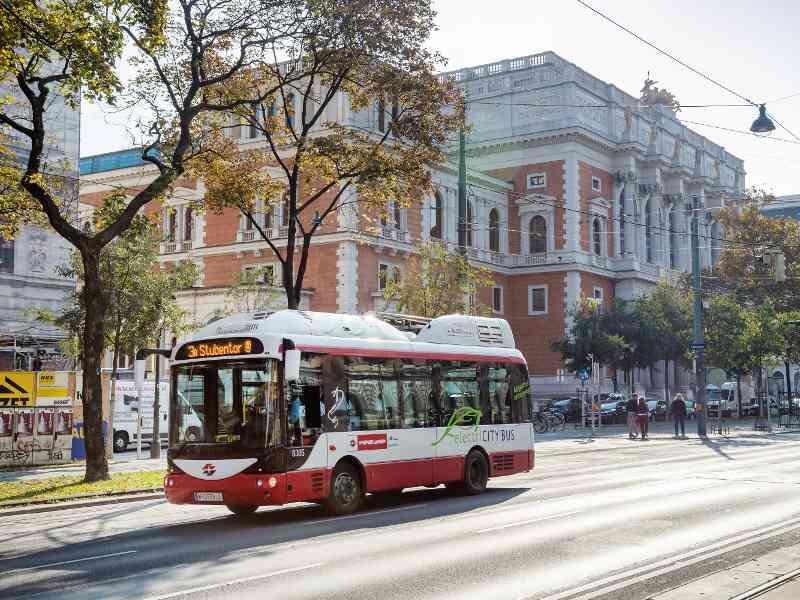 Bei den kürzesten Busstrecken auf Platz 2: Die Linie 3A fährt auf einer Strecke von 2,1 Kilometern.