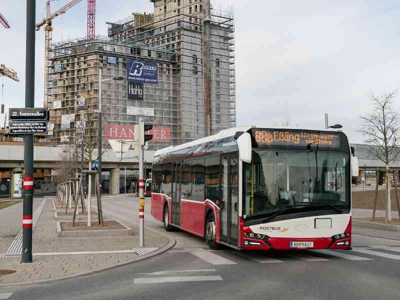 Fakt: Der 88A ist einer der 26 Buslinien, die im 22. Bezirk unterwegs sind.