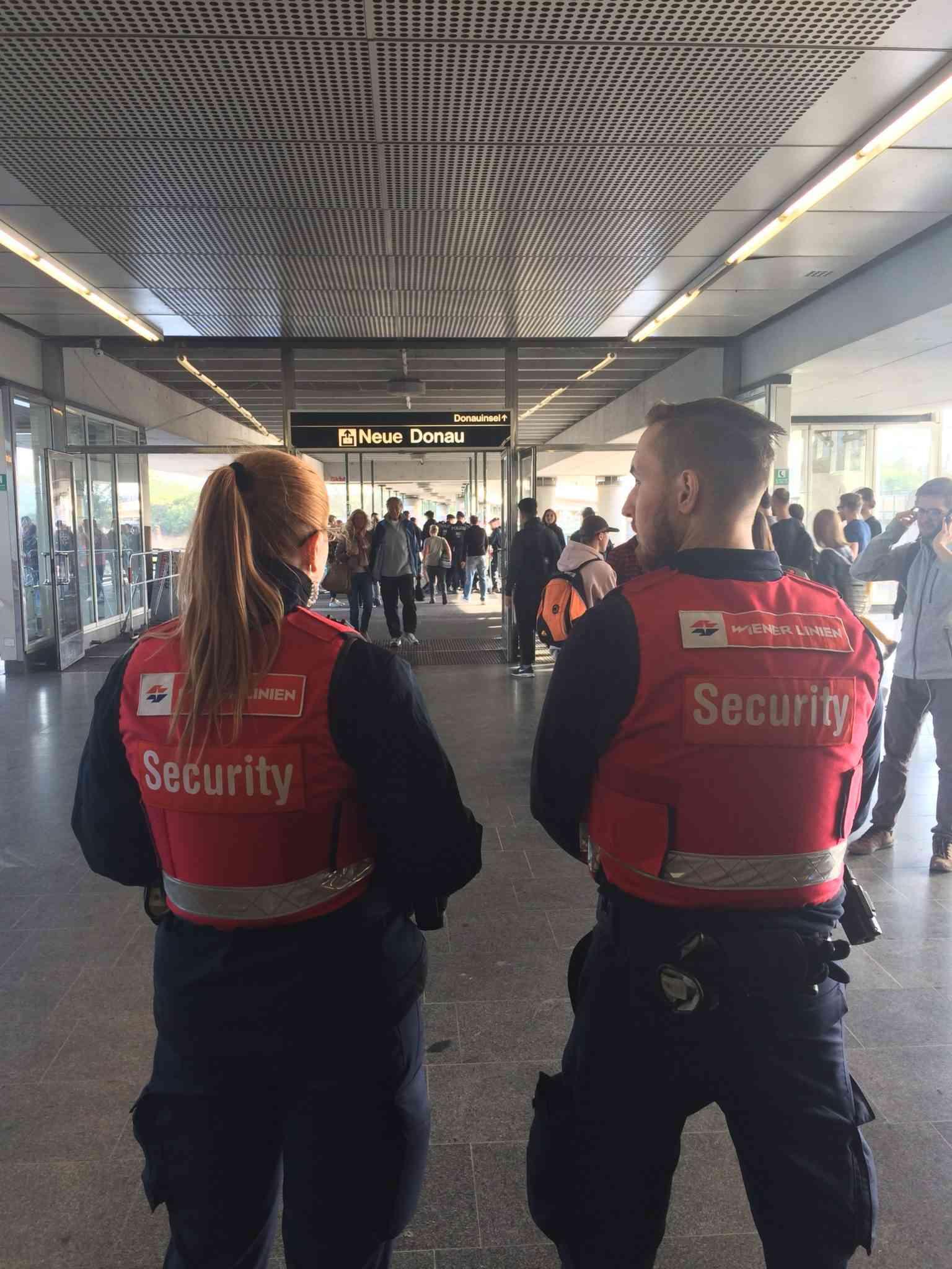 Der Wiener-Linien-Sicherheitsdienst ist rund um die Uhr im Einsatz.