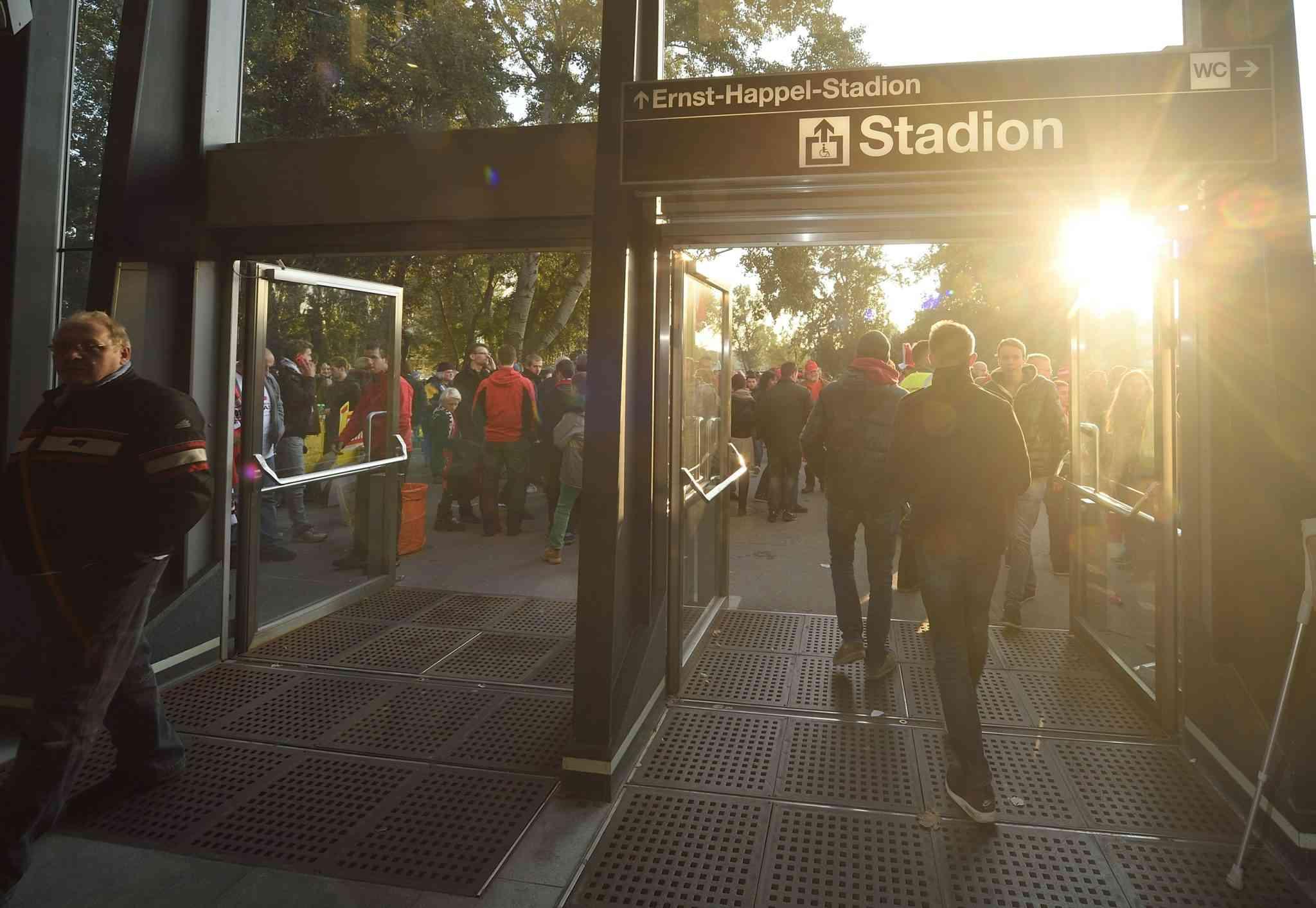 U2-Station Stadion