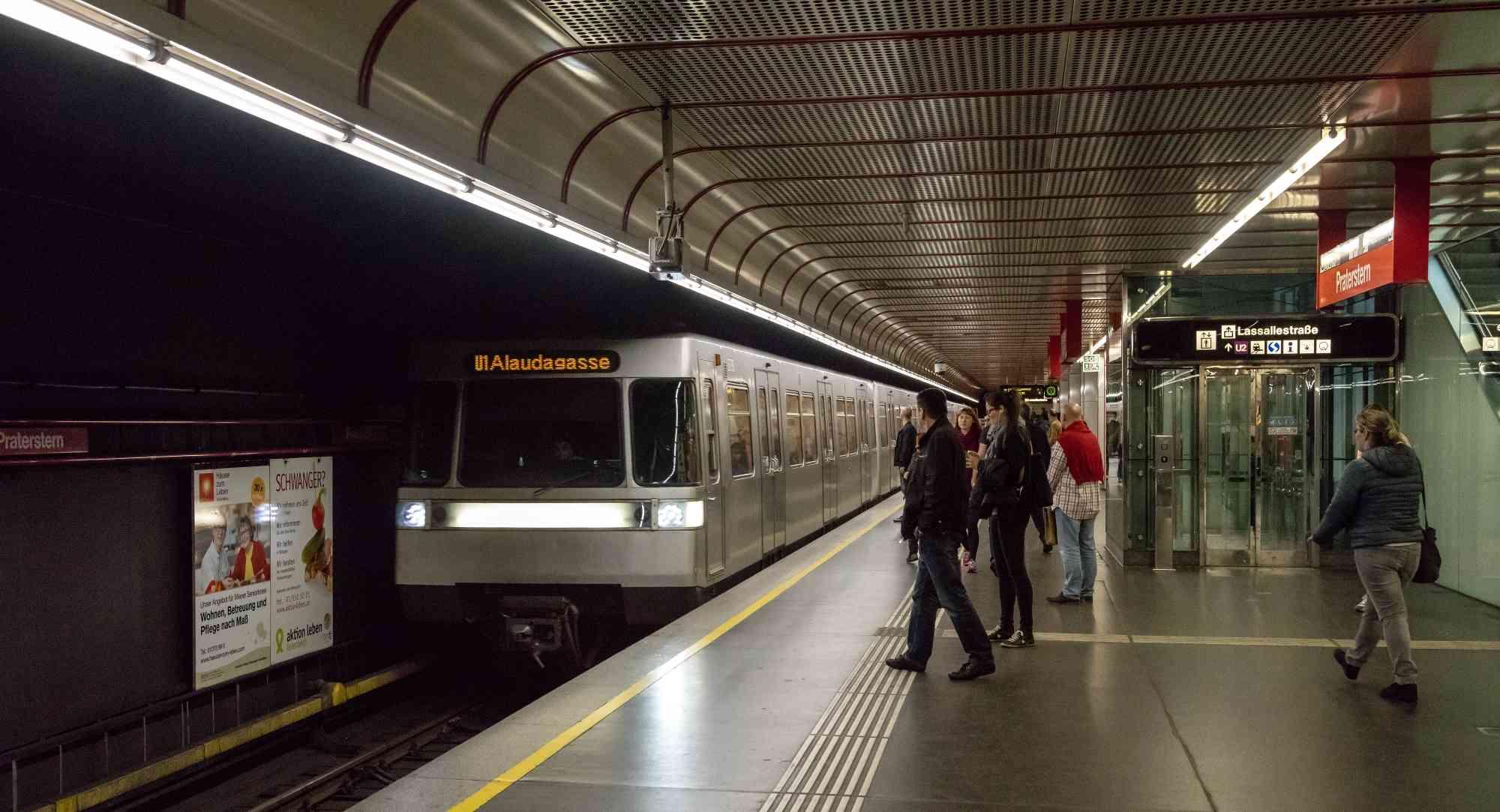 U1-Station Praterstern