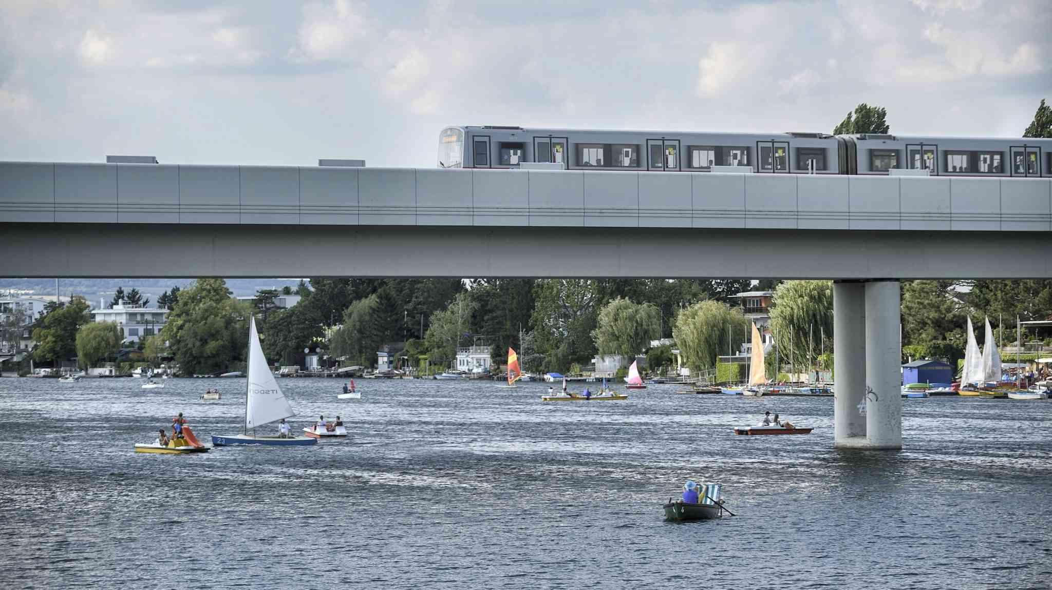 U1-Station Alte Donau