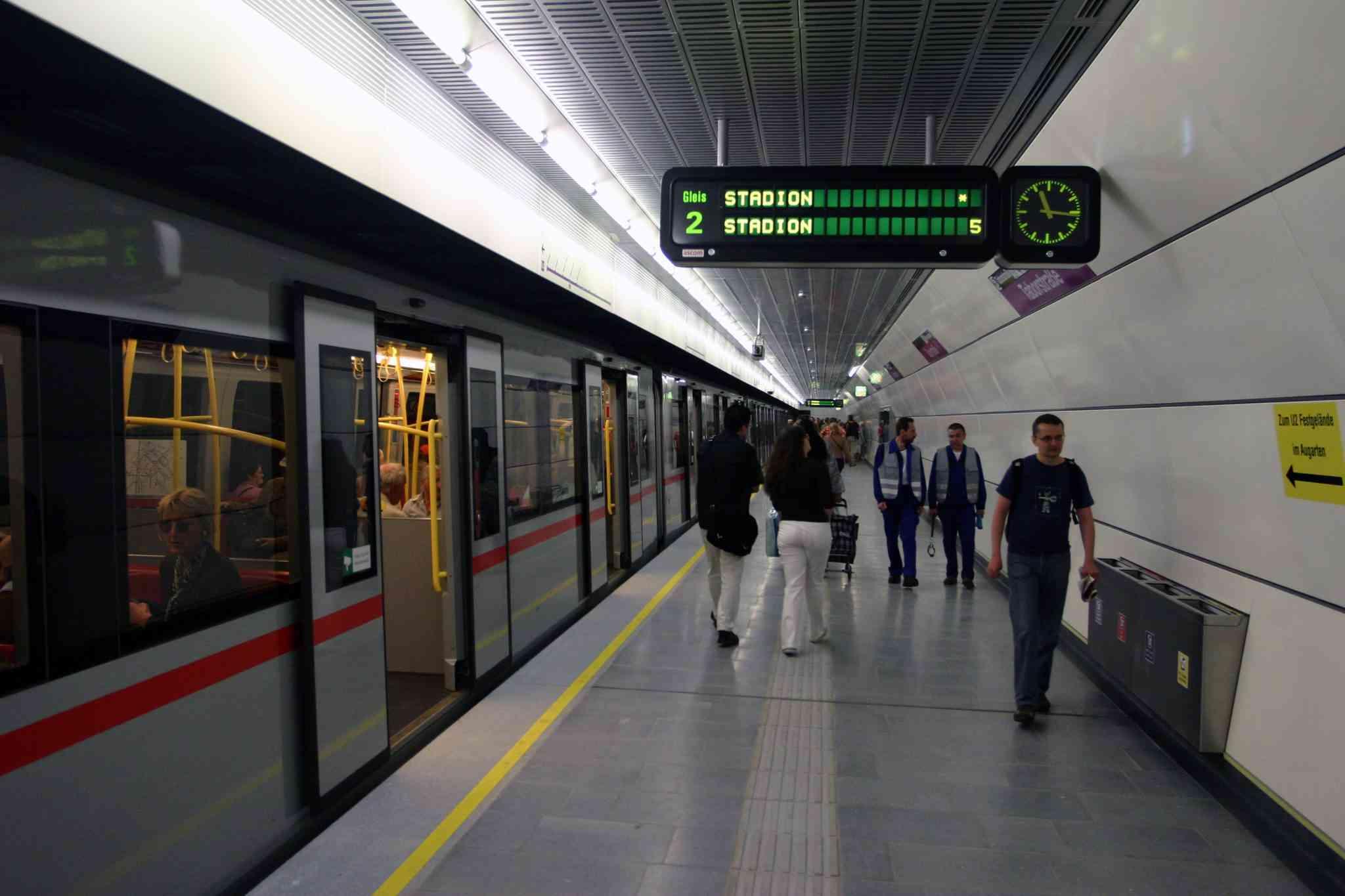 U2-Station Taborstraße