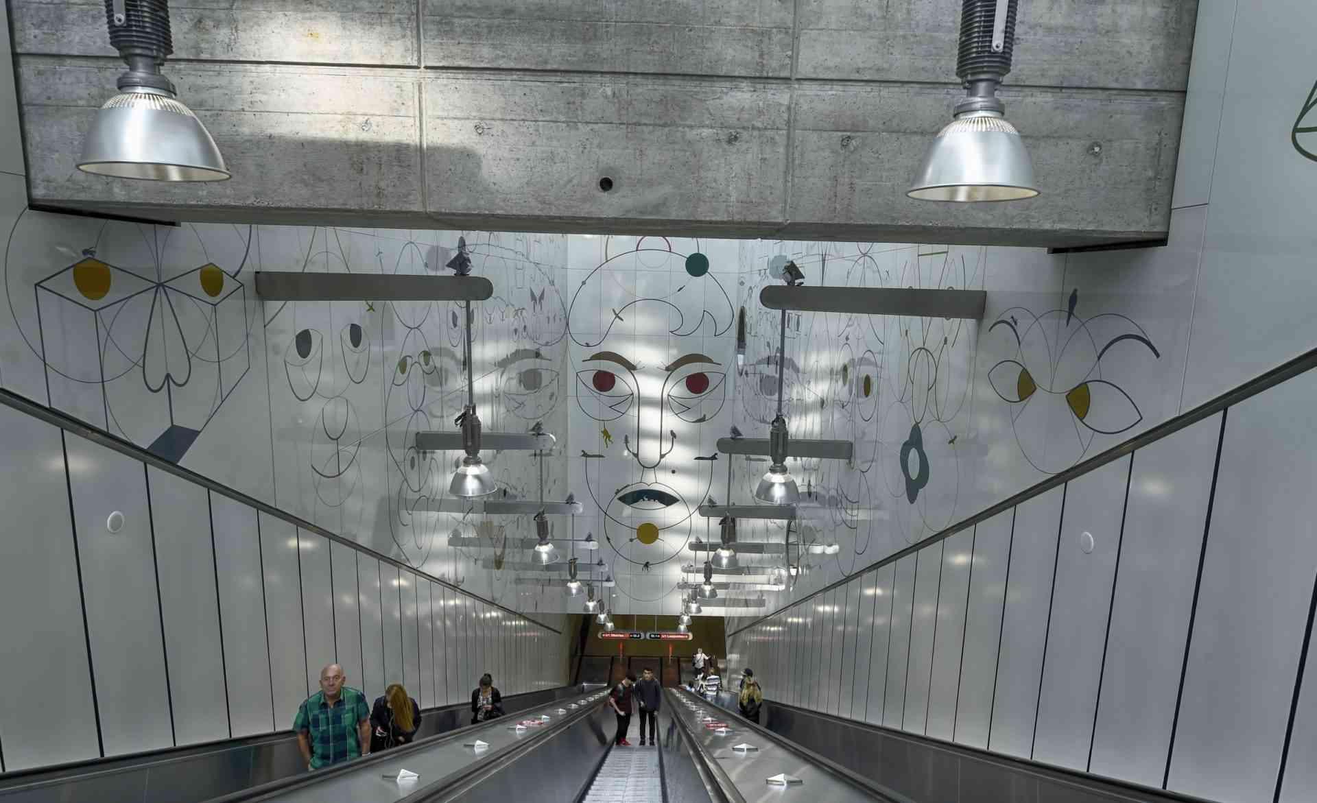 50 Jahre Spatenstich U-Bahn Wien: Kunstwerk Altes Landgut