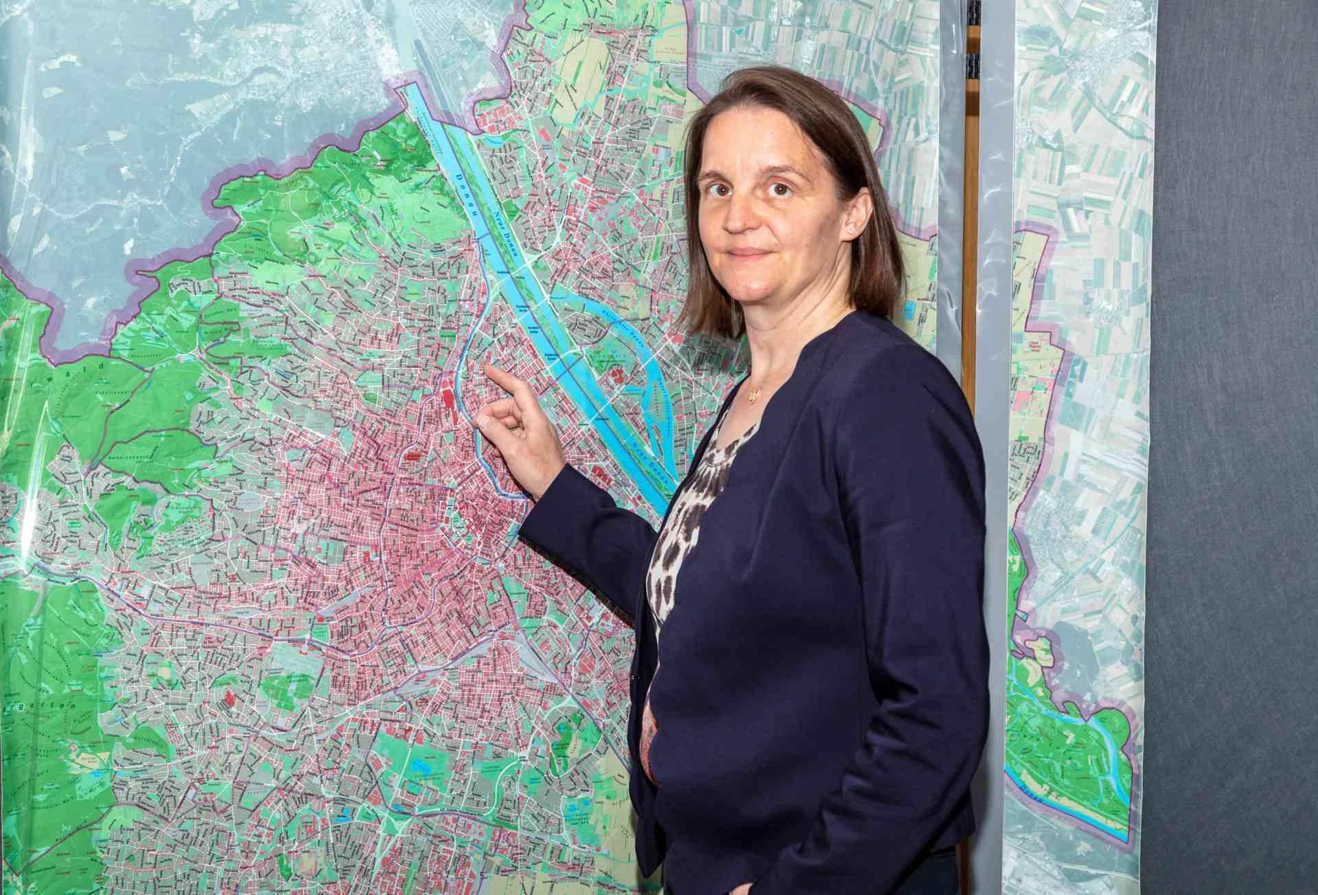 Johanna Wiesholzer ist die Leiterin des Krisenstabs zu Covid-19.