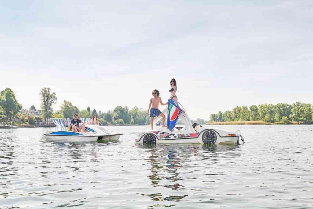 Bootfahren U1 Alte Donau